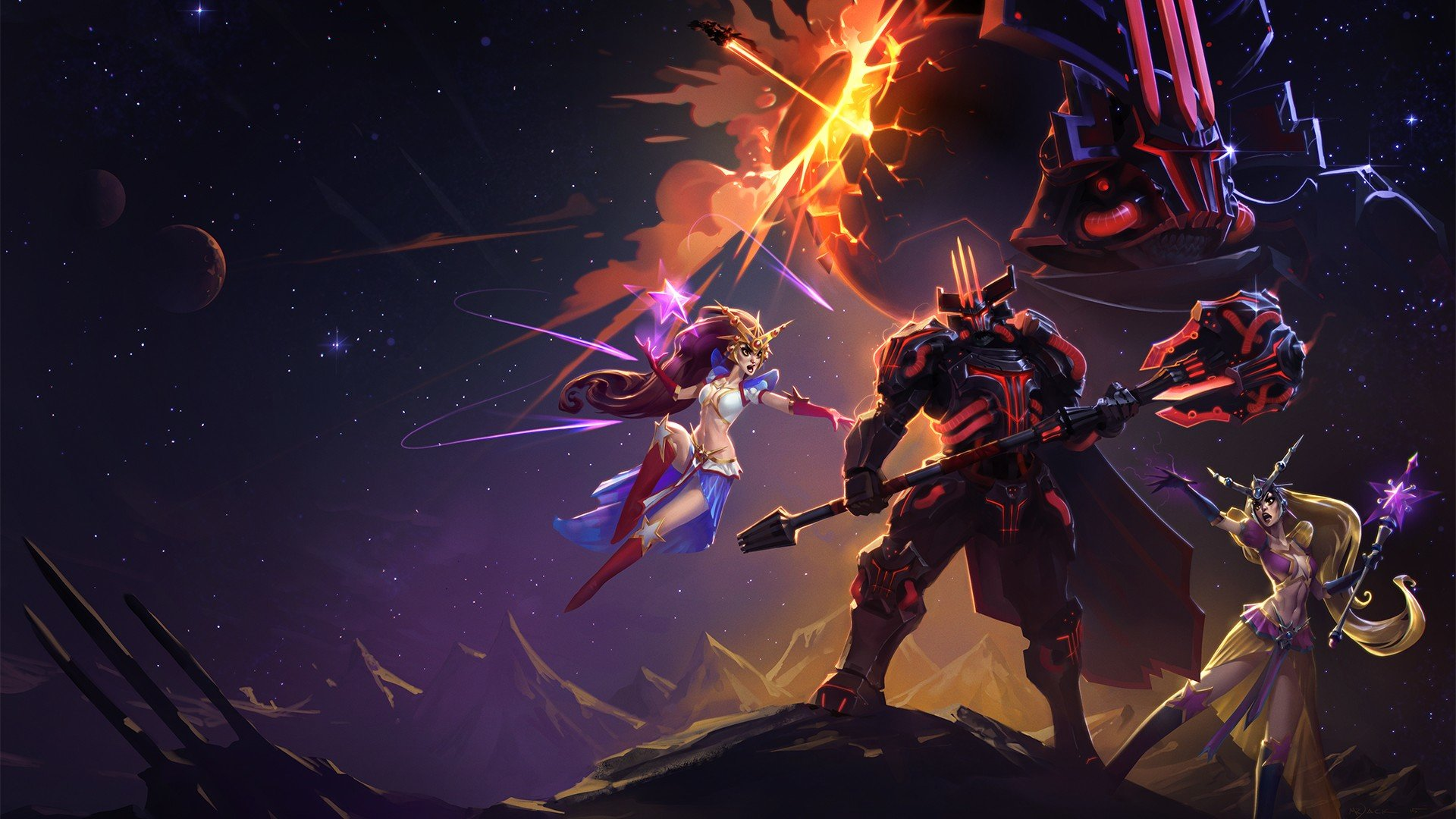 High Resolution Heroes Of The Storm 1080p Wallpaper Space Leoric