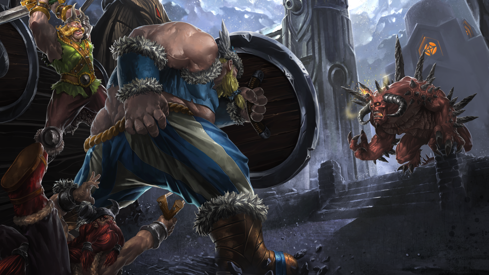 Heroes Of The Storm 1279598 Hd Wallpaper Backgrounds Download