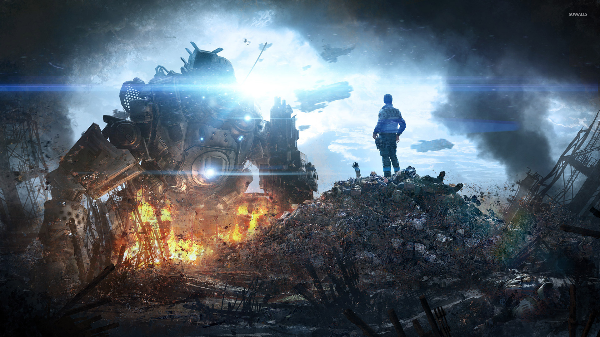 Titanfall 2 Wallpapers Images - Titanfall 2 Concept Art , HD Wallpaper & Backgrounds