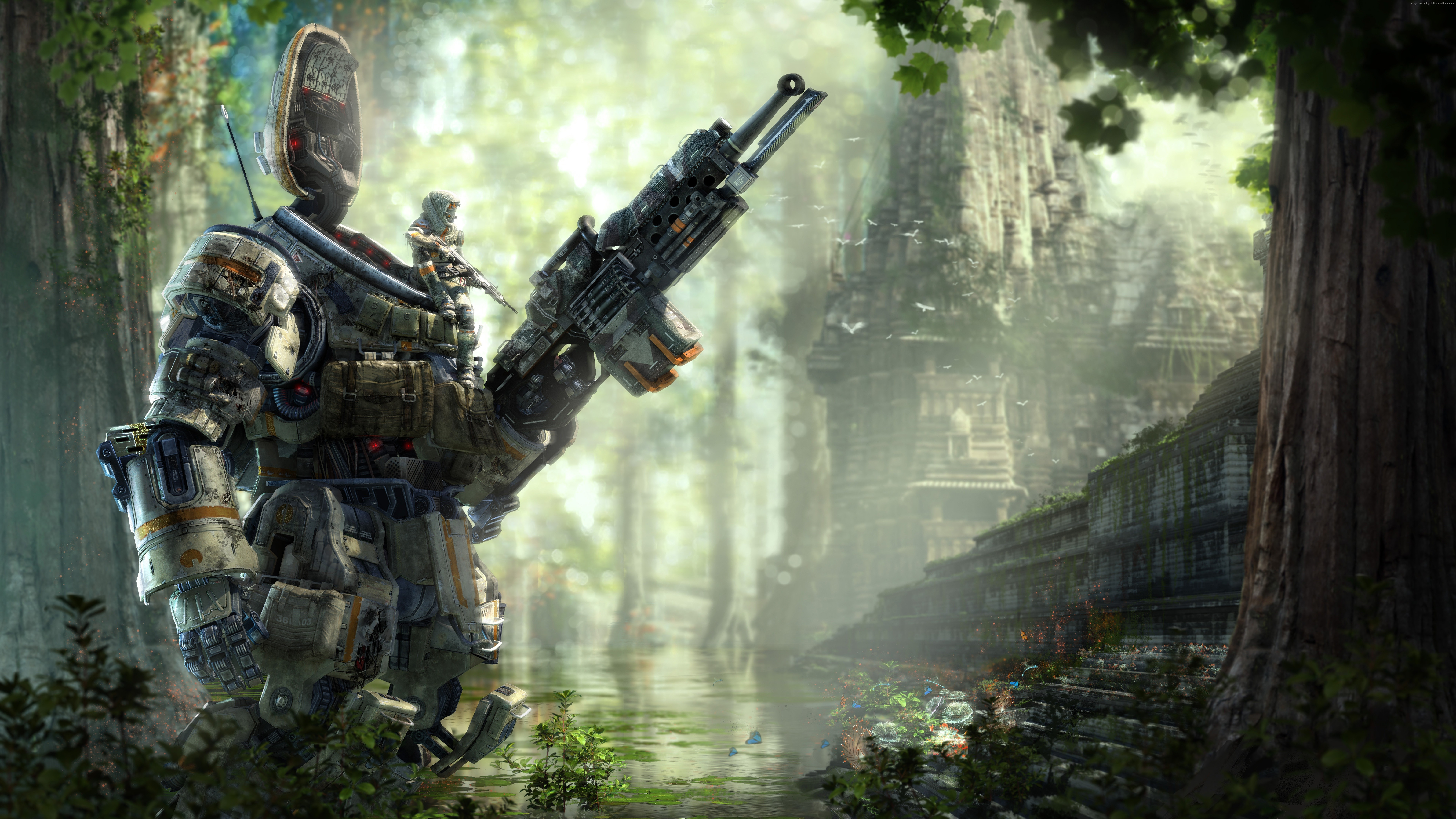 Titanfall 2 Wallpapers High Quality , HD Wallpaper & Backgrounds
