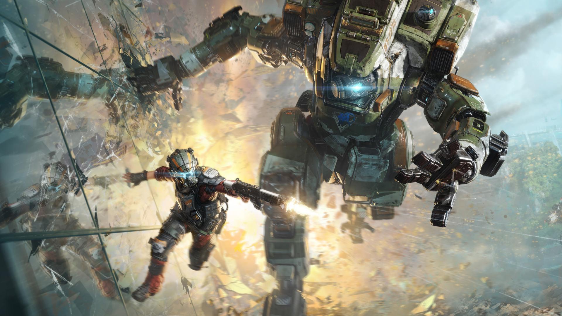 Titanfall 2 Bt 7274 , HD Wallpaper & Backgrounds