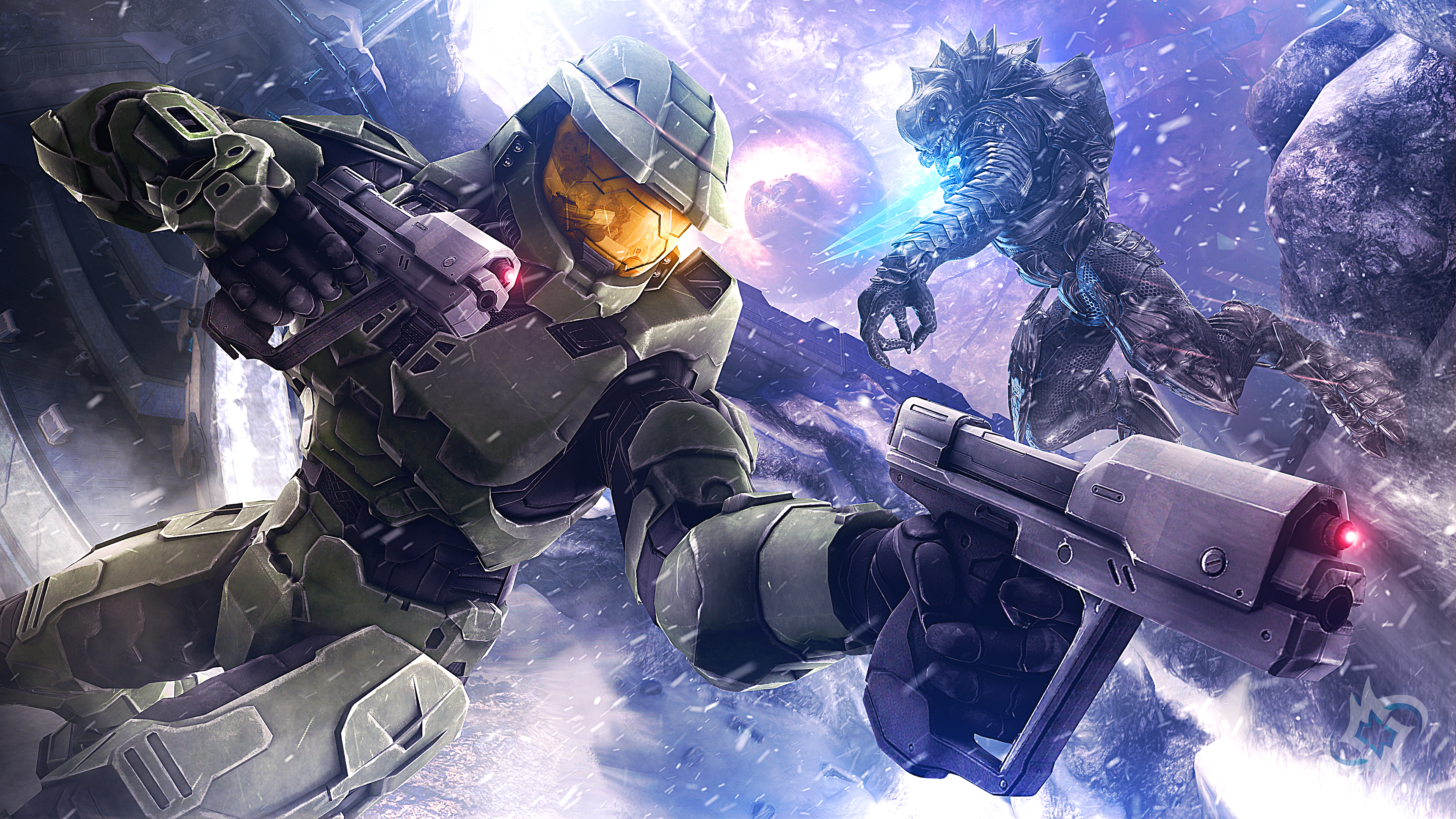 Master Chief Halo 3 4k Wallpapers 1282745 Hd Wallpaper