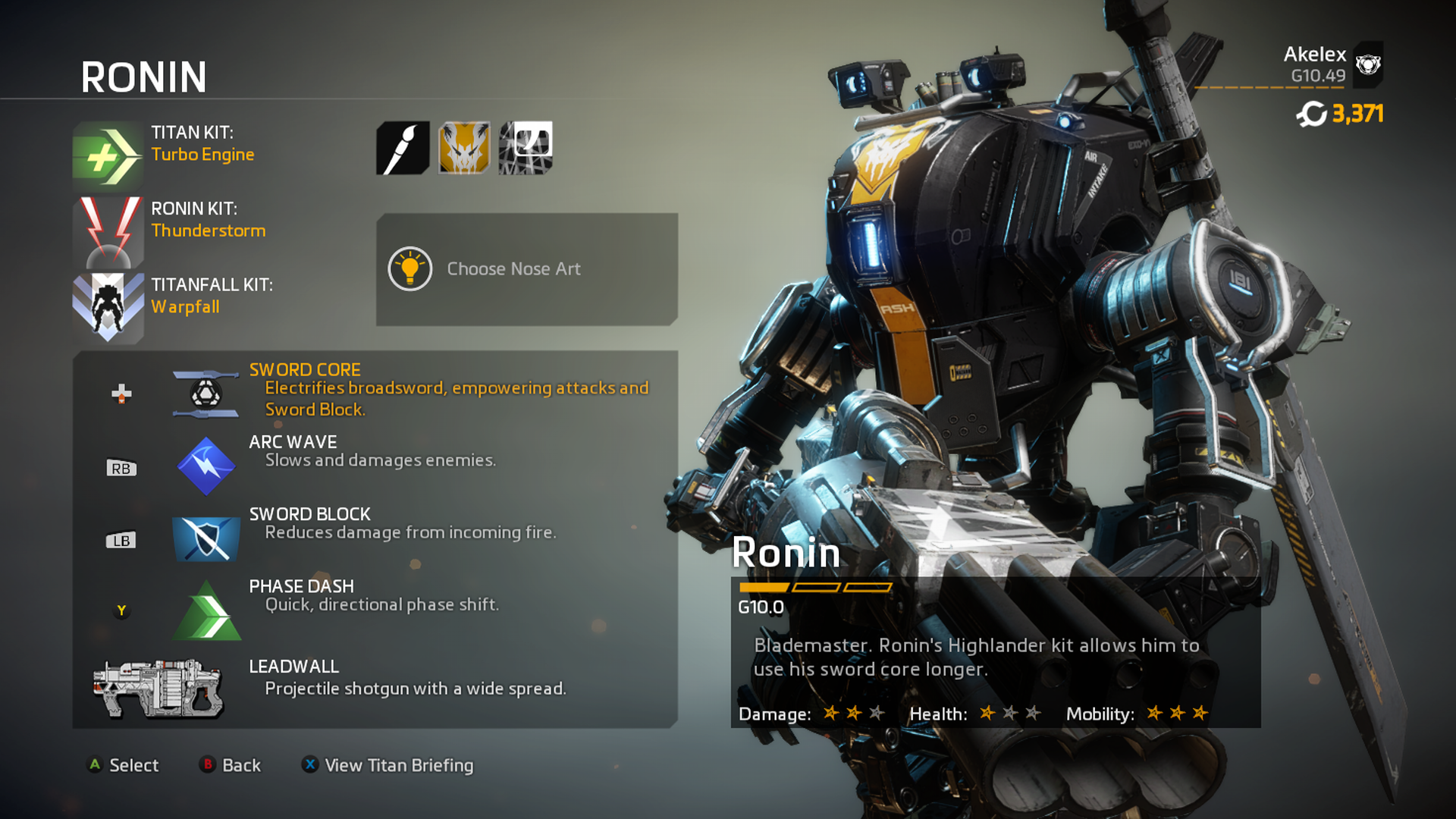 Titanfall 2 Ronin Wallpapers Images - Titanfall 2 Ronin Skins , HD Wallpaper & Backgrounds