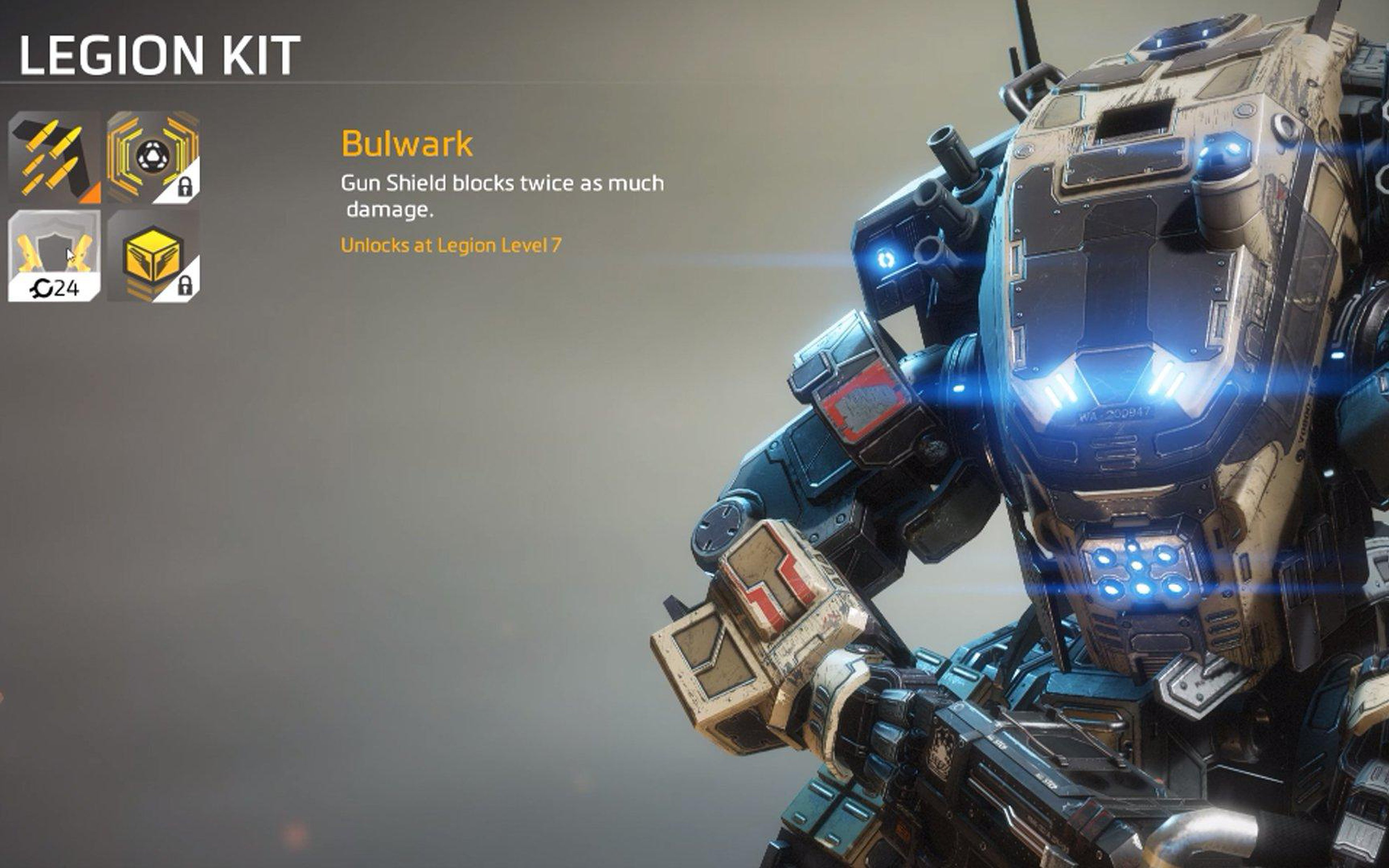 Download Titanfall 2 Bulwark For 4k Ultra Hd - Titanfall 2 Sere Kit , HD Wallpaper & Backgrounds