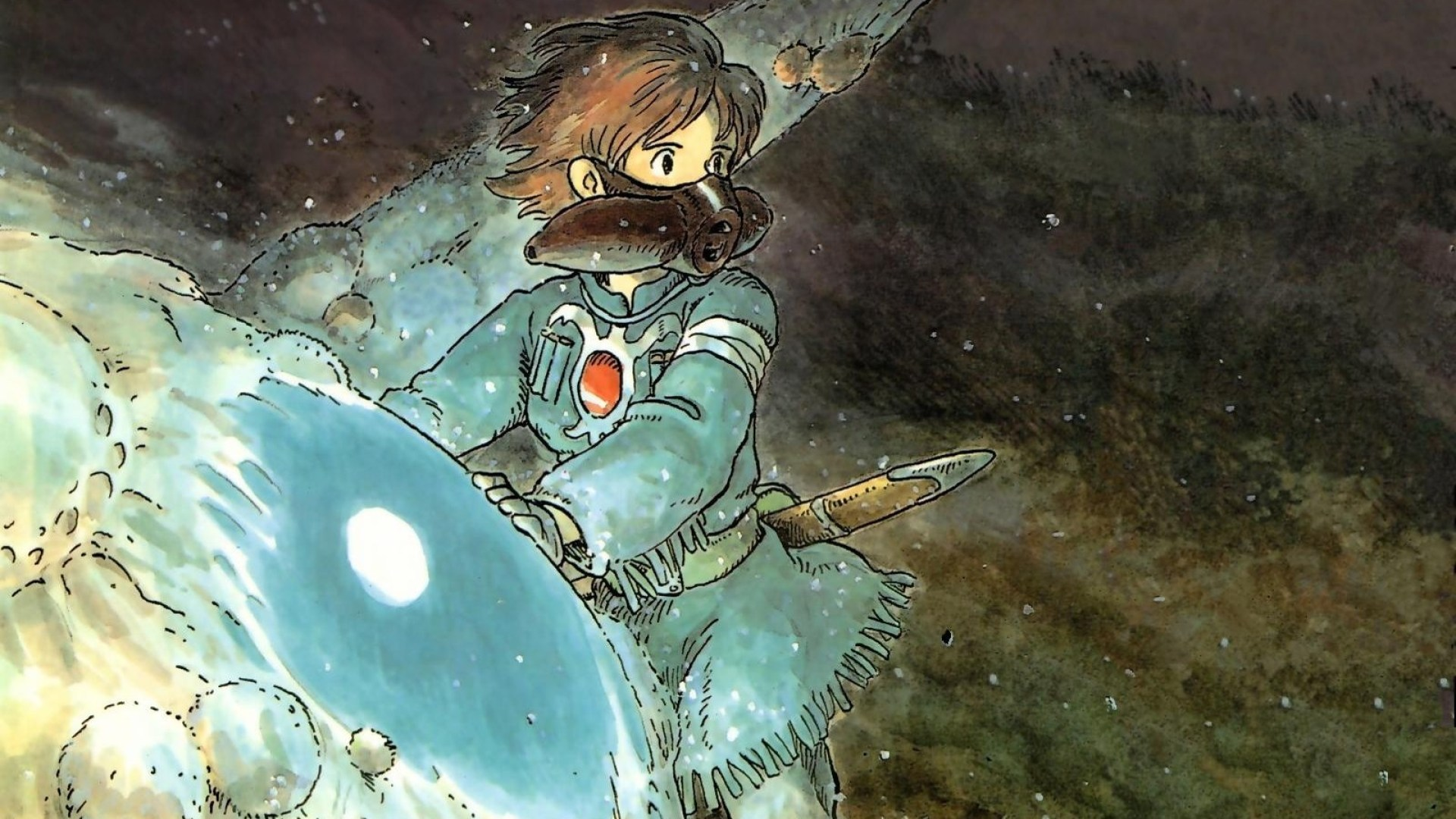 Nausicaa Of The Valley Of The Wind Iphone 1285365 Hd