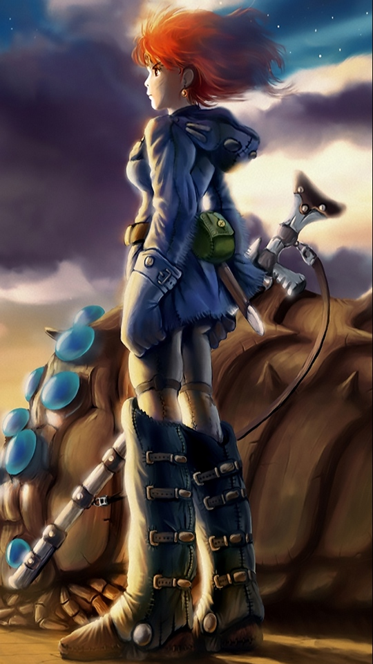Wallpaper Nausicaa Of The Valley Of The Wind, Nausicaa, - Nausicaa Of The Valley Of The Wind Fanart , HD Wallpaper & Backgrounds
