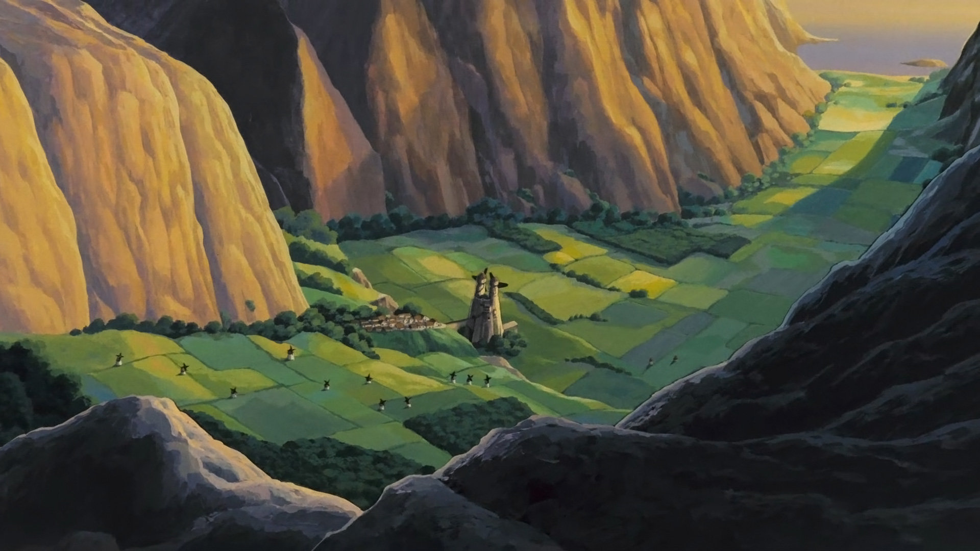 Best Nausicaa Of The Valley Of The Wind Wallpaper Id Background