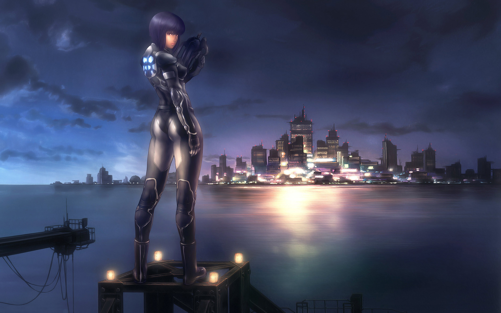 Ghost In The Shell Background 1286710 Hd Wallpaper Backgrounds Download