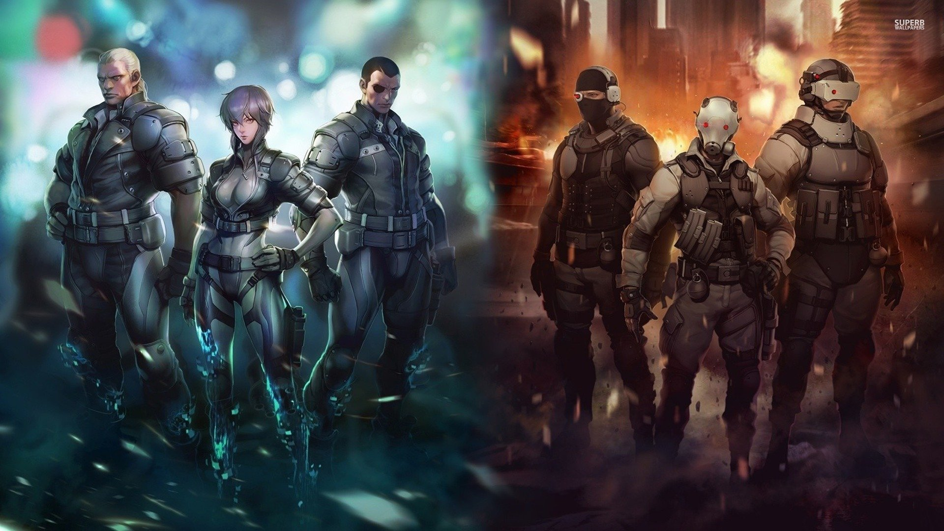 Ghost In The Shell Wallpaper Hd Ghost In The Shell Arise
