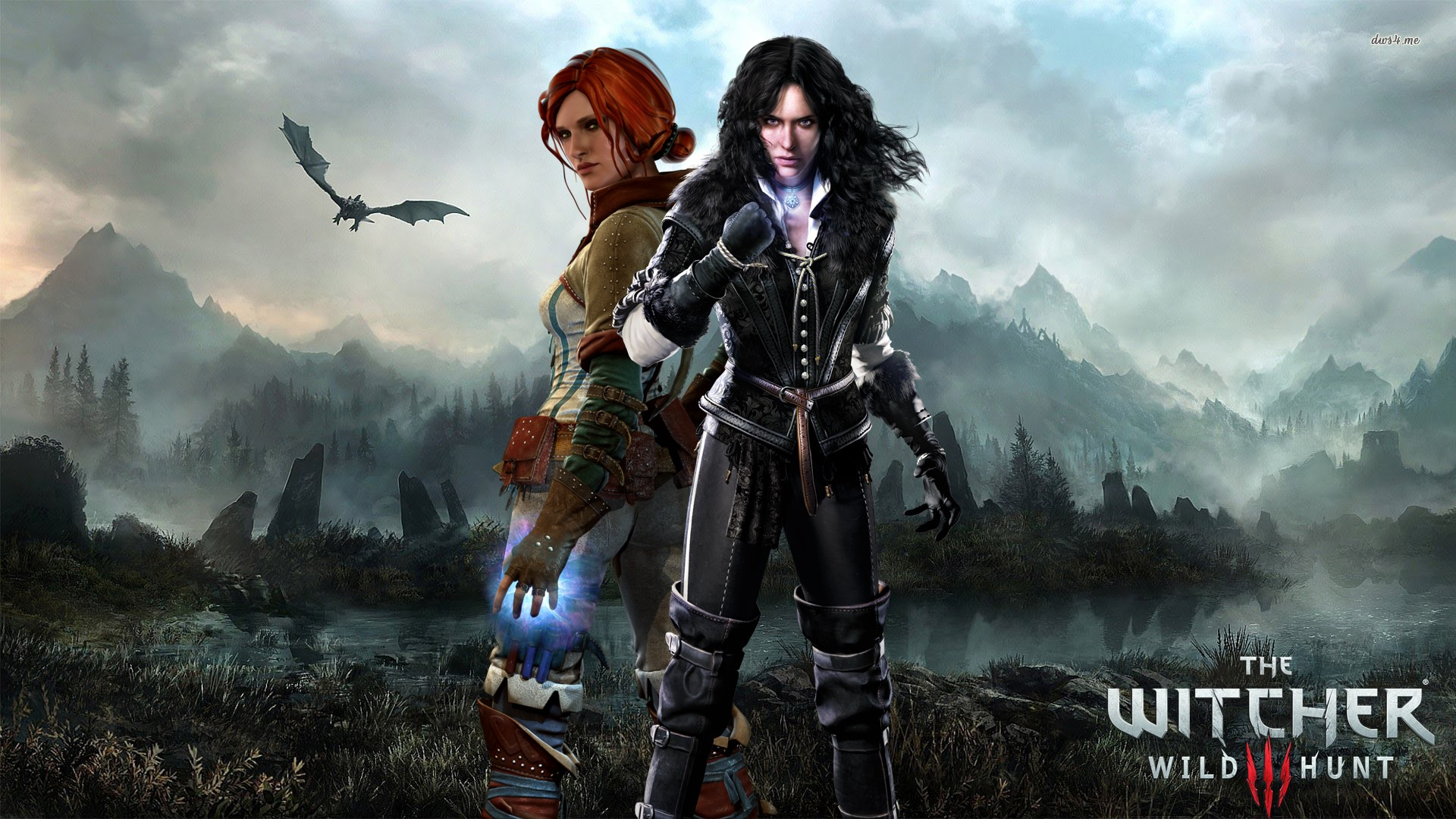 The Witcher Witcher 3 Wallpaper Hd Triss 1289070 Hd