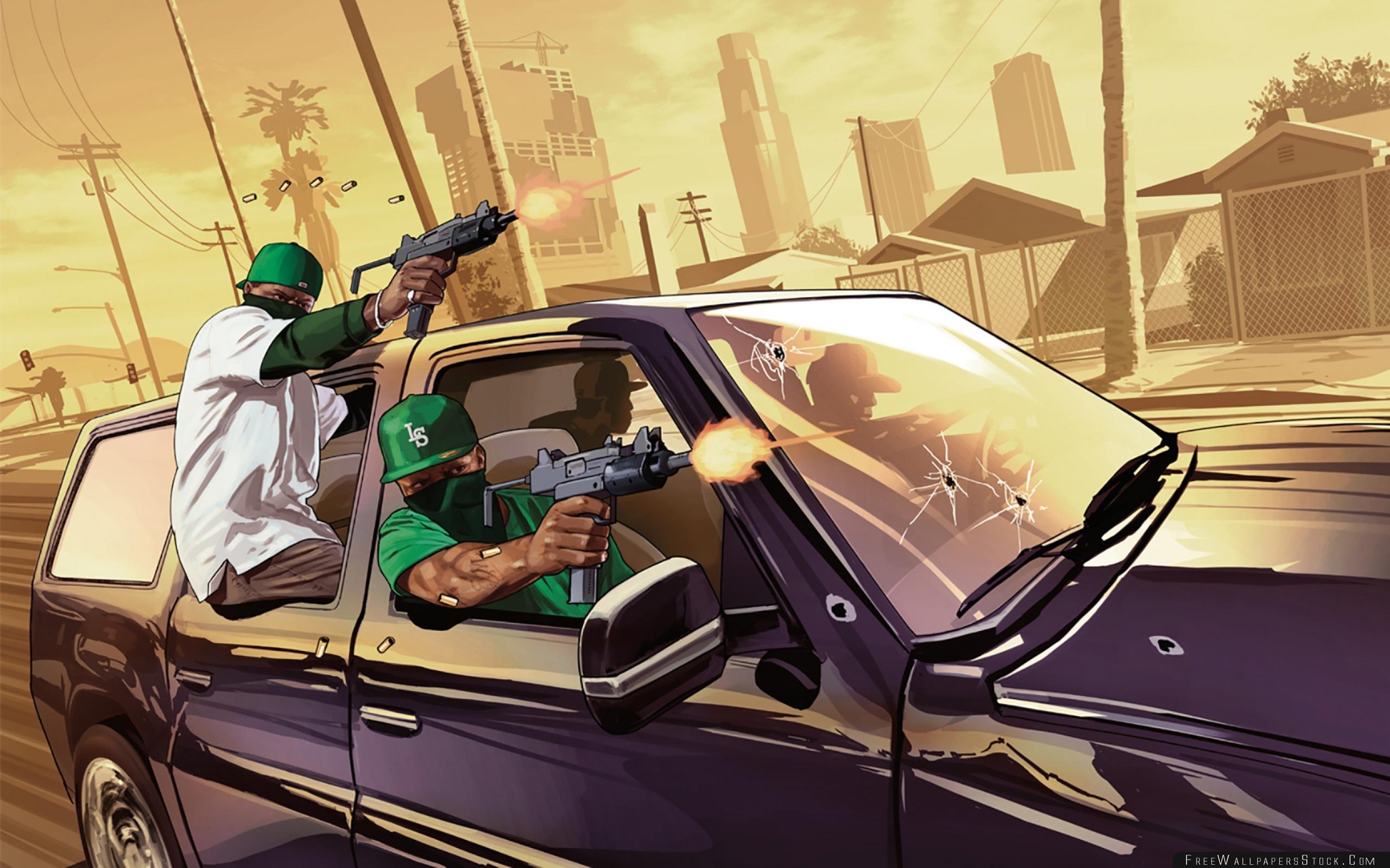 Grand Theft Auto Gta Grove Street Los Santos Wallpaper Gta