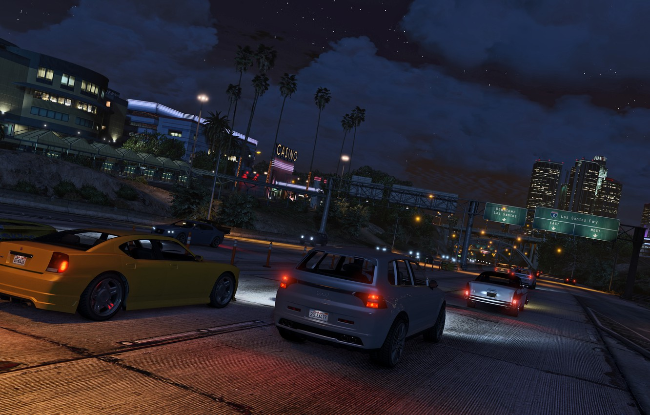 Photo Wallpaper Machine Los Grand Theft Auto V Gta Gta