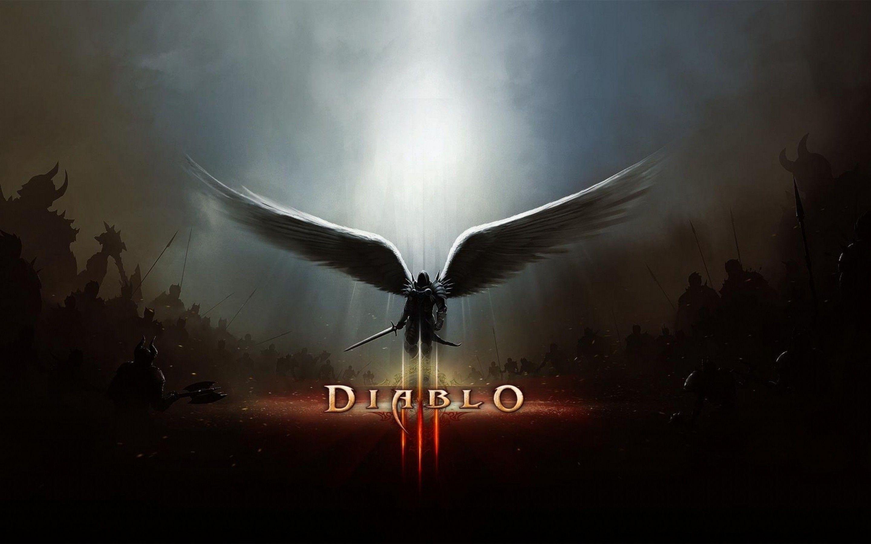Diablo 3 Reaper Of Souls Tyrael With Wings Wallpaper Diablo 3
