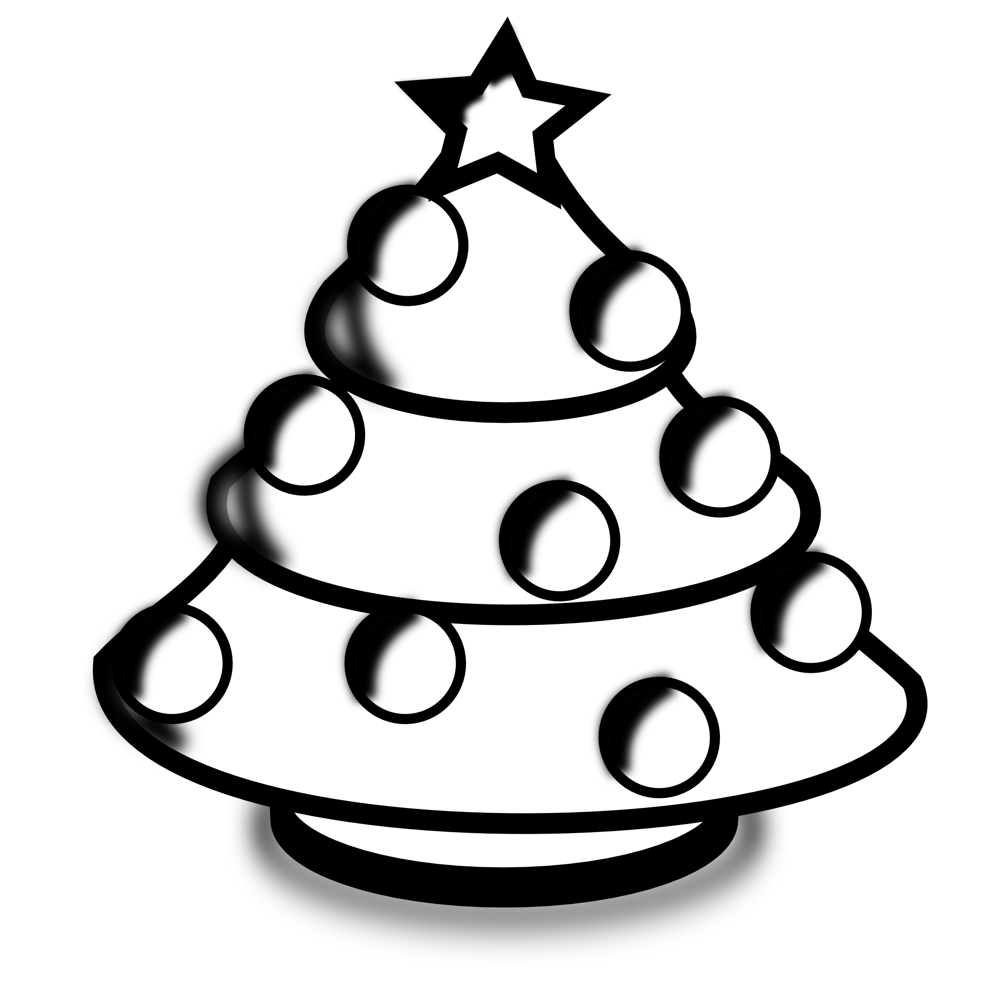 Merry Christmas Clip Art Black And White Hd Images Christmas Day