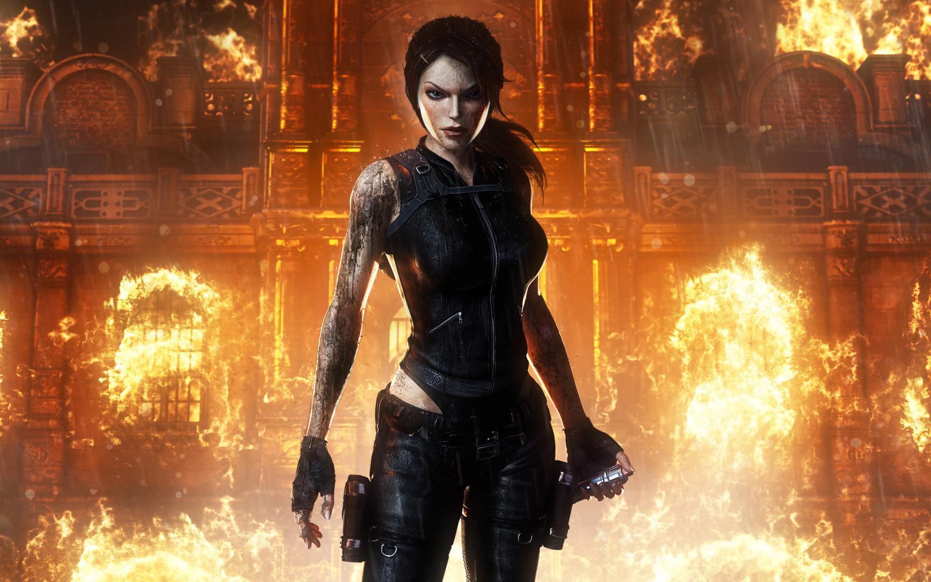 Women, Anime, Video Games, Tomb Raider, Lara Croft - Tomb Raider Underworld 4k , HD Wallpaper & Backgrounds