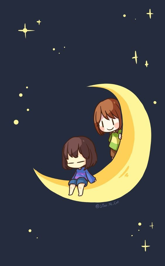 Frisk And Chara Undertale Wallapers Chara And Frisk Phone