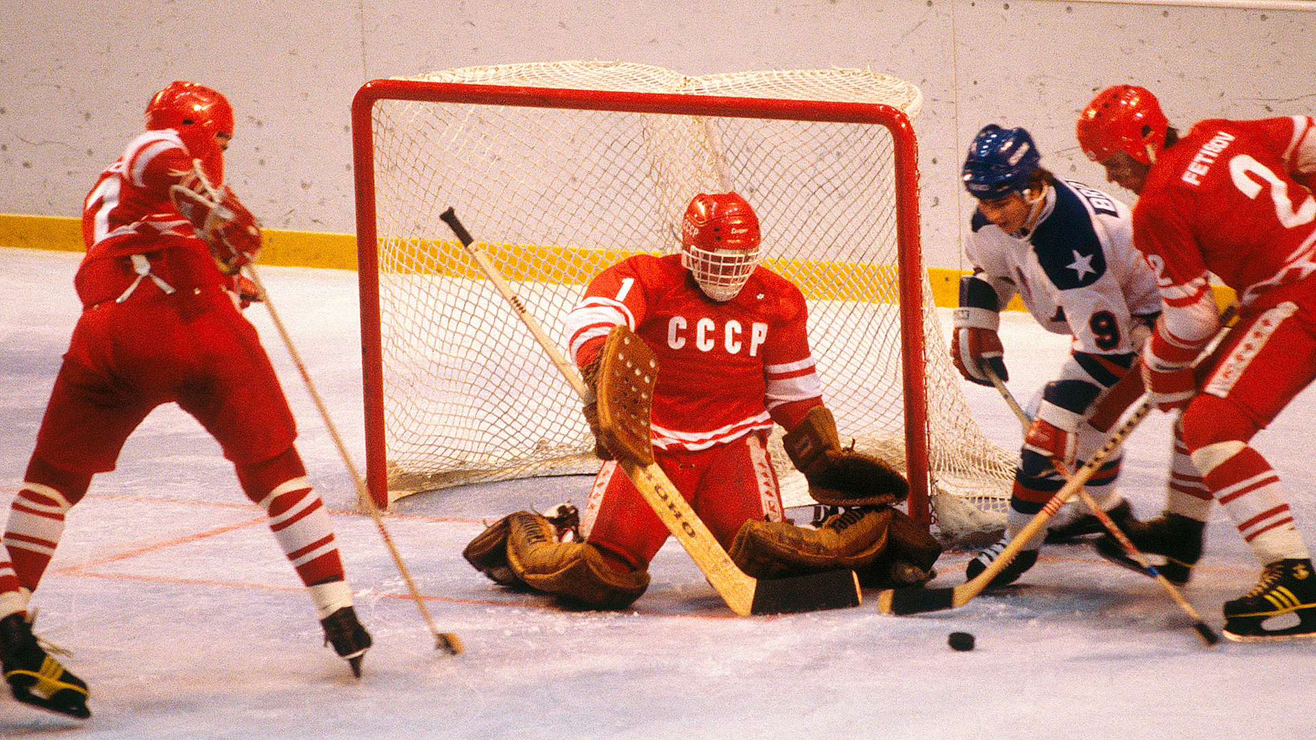 The Fearsome Red Machine - 1980 Olympic Hockey Team American Dad , HD Wallpaper & Backgrounds