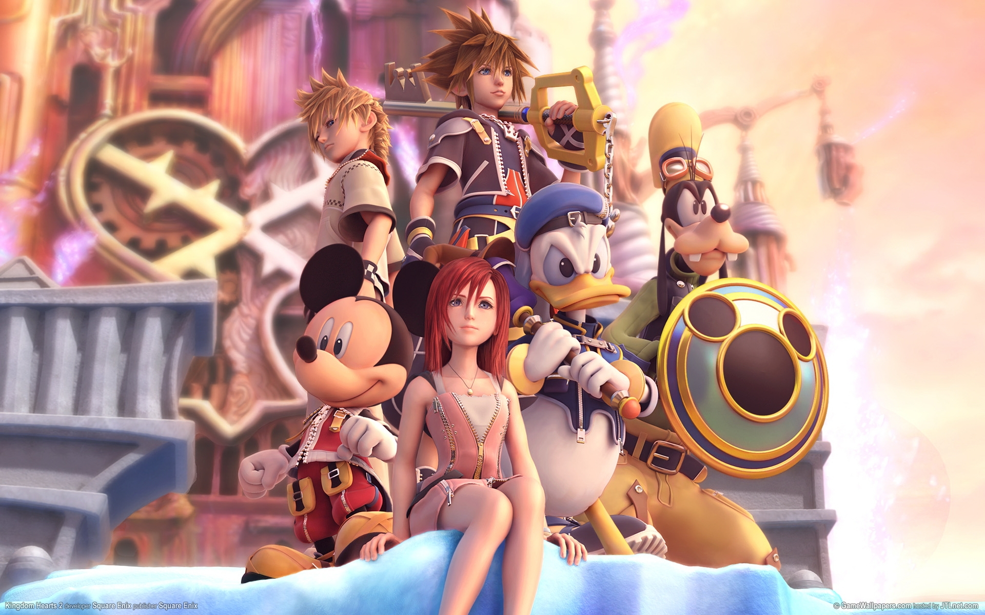 Fond D Ecran Heros De Jeux Video Kingdom Hearts 1296473 Hd Wallpaper Backgrounds Download