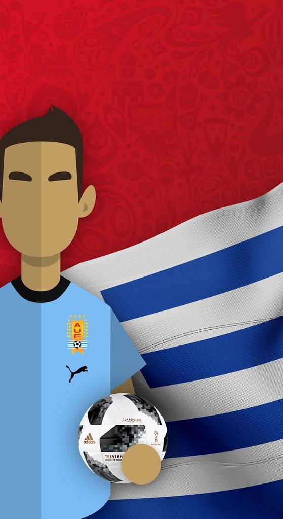Team Uruguay - Saudi Arabia Iphone X , HD Wallpaper & Backgrounds