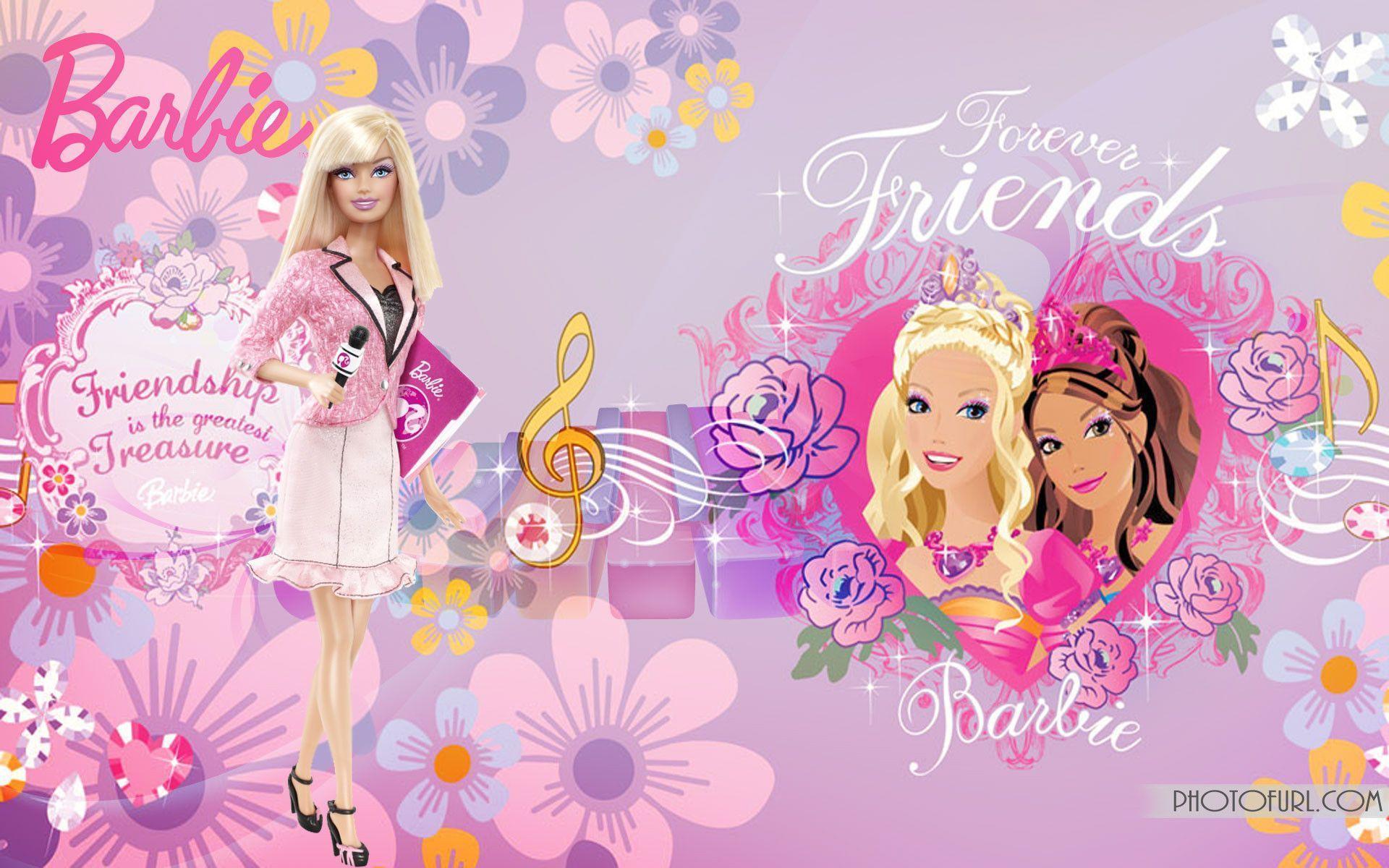 Fonds D'écran Barbie - Barbie Wallpaper Background , HD Wallpaper & Backgrounds