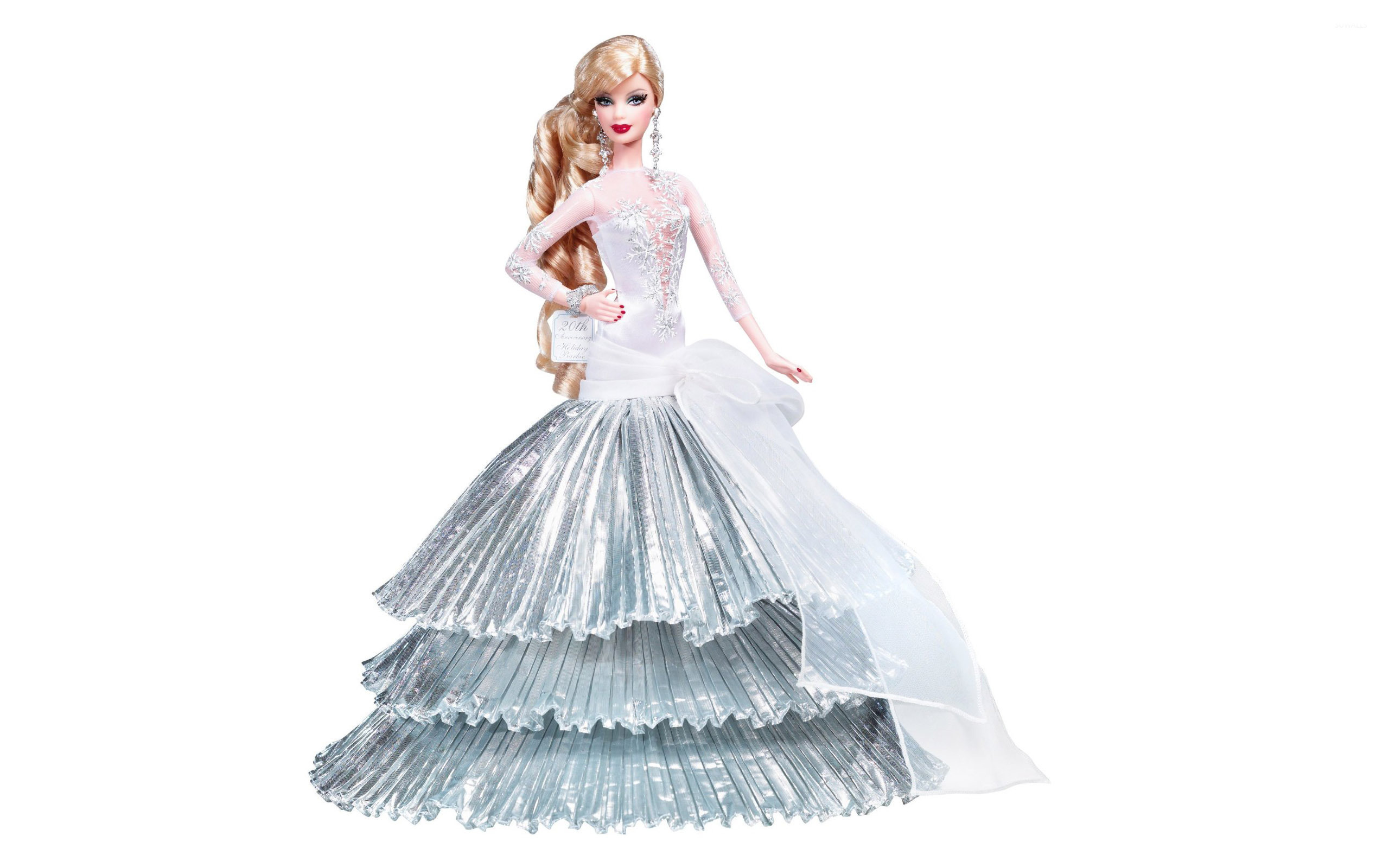 Diva Barbie Wallpaper - Barbie Holiday 2008 , HD Wallpaper & Backgrounds