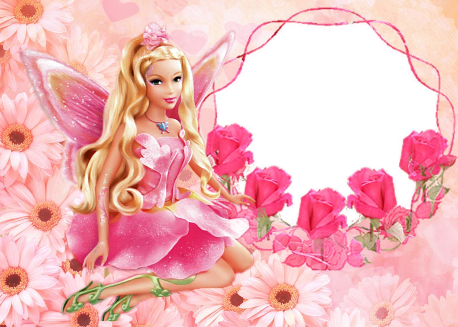 Barbie Pink Fullscreen Wallpaper - Barbie Background For Birthday , HD Wallpaper & Backgrounds