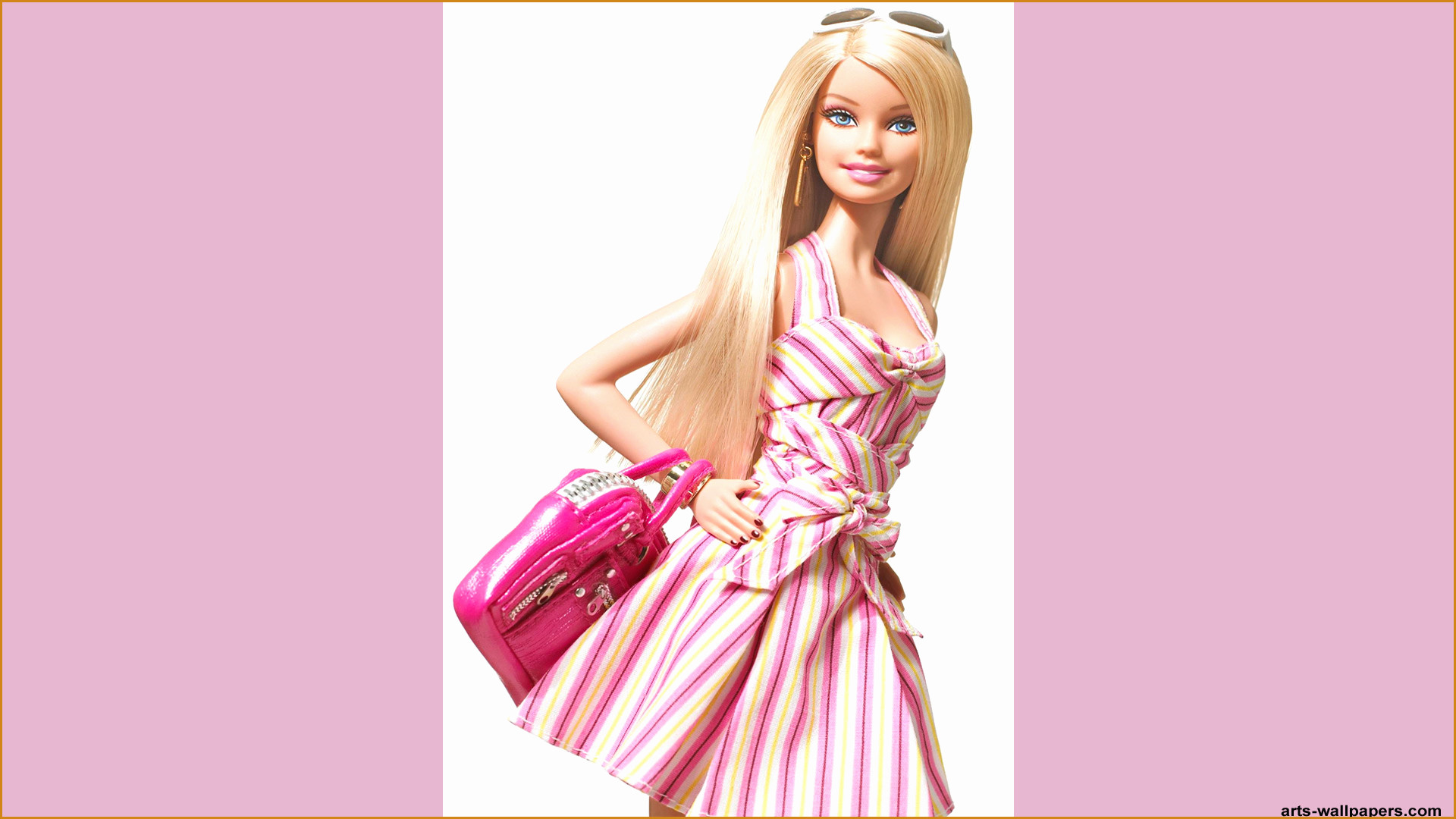 Admirable Of Barbie Wallpaper Of 58 New Figure Of Barbie - Now Barbie , HD Wallpaper & Backgrounds