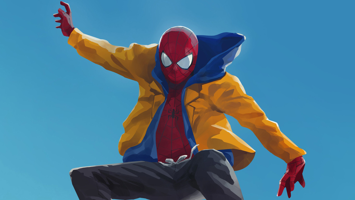 41 Spiderman Into The Spider Verse Wallpaper Spider Man Into The