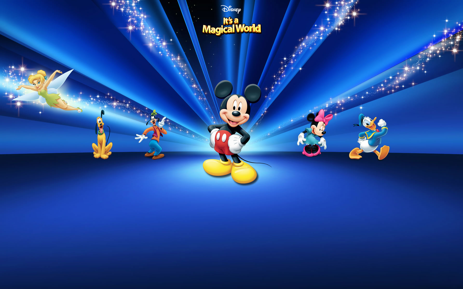Mickey Mouse Mickey Mouse Blue Background 132302 Hd