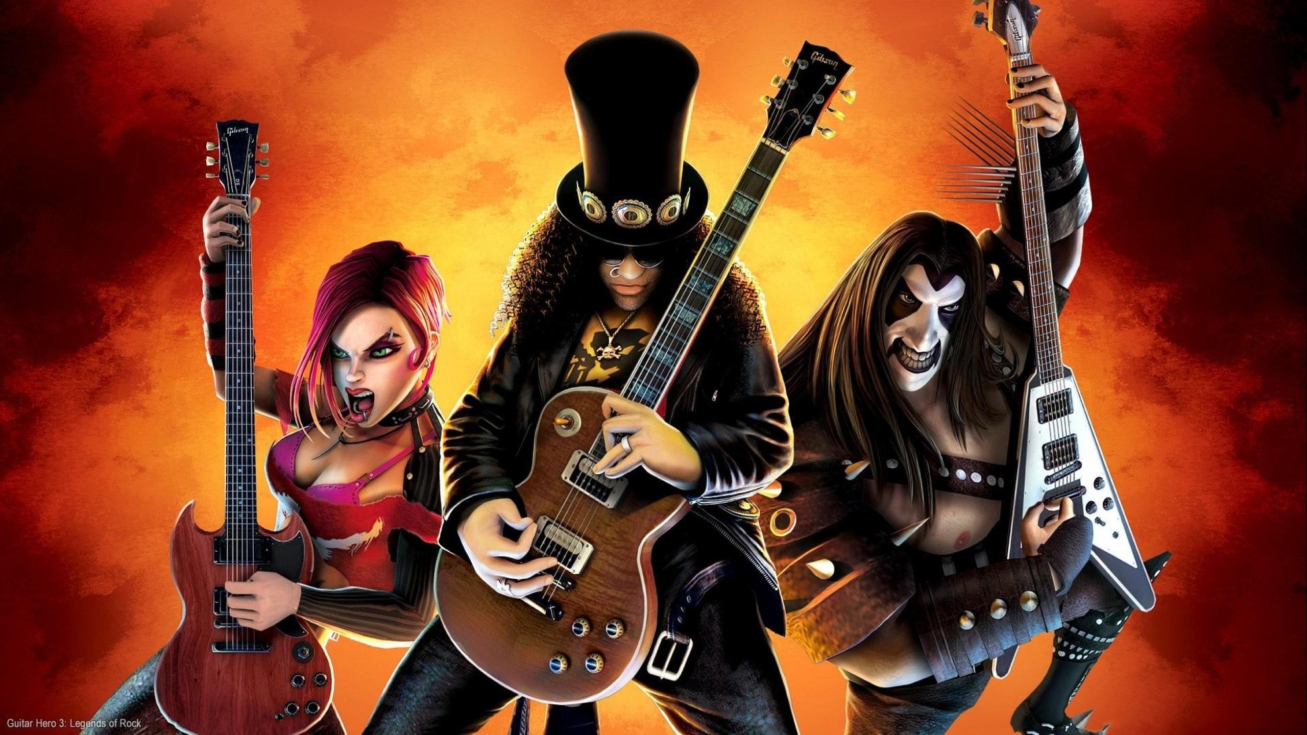 Standard - Guitar Hero 3 Legends Of Rock , HD Wallpaper & Backgrounds