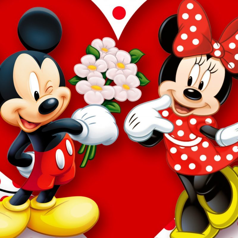 10 Most Popular Mickey Mouse And Minnie Mouse Wallpapers Mickey