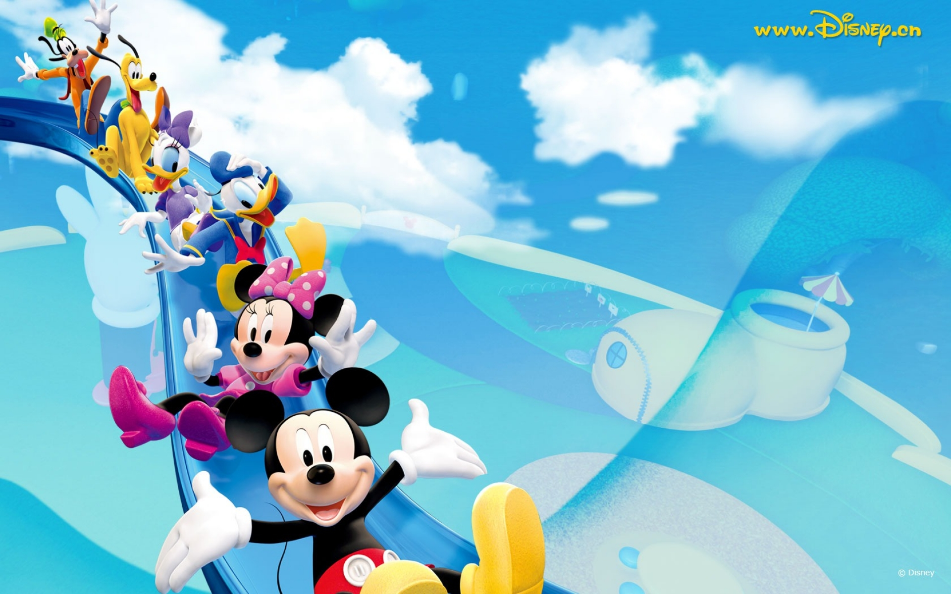Mickey Mouse And Friends Wallpaper Mickey Mouse Background