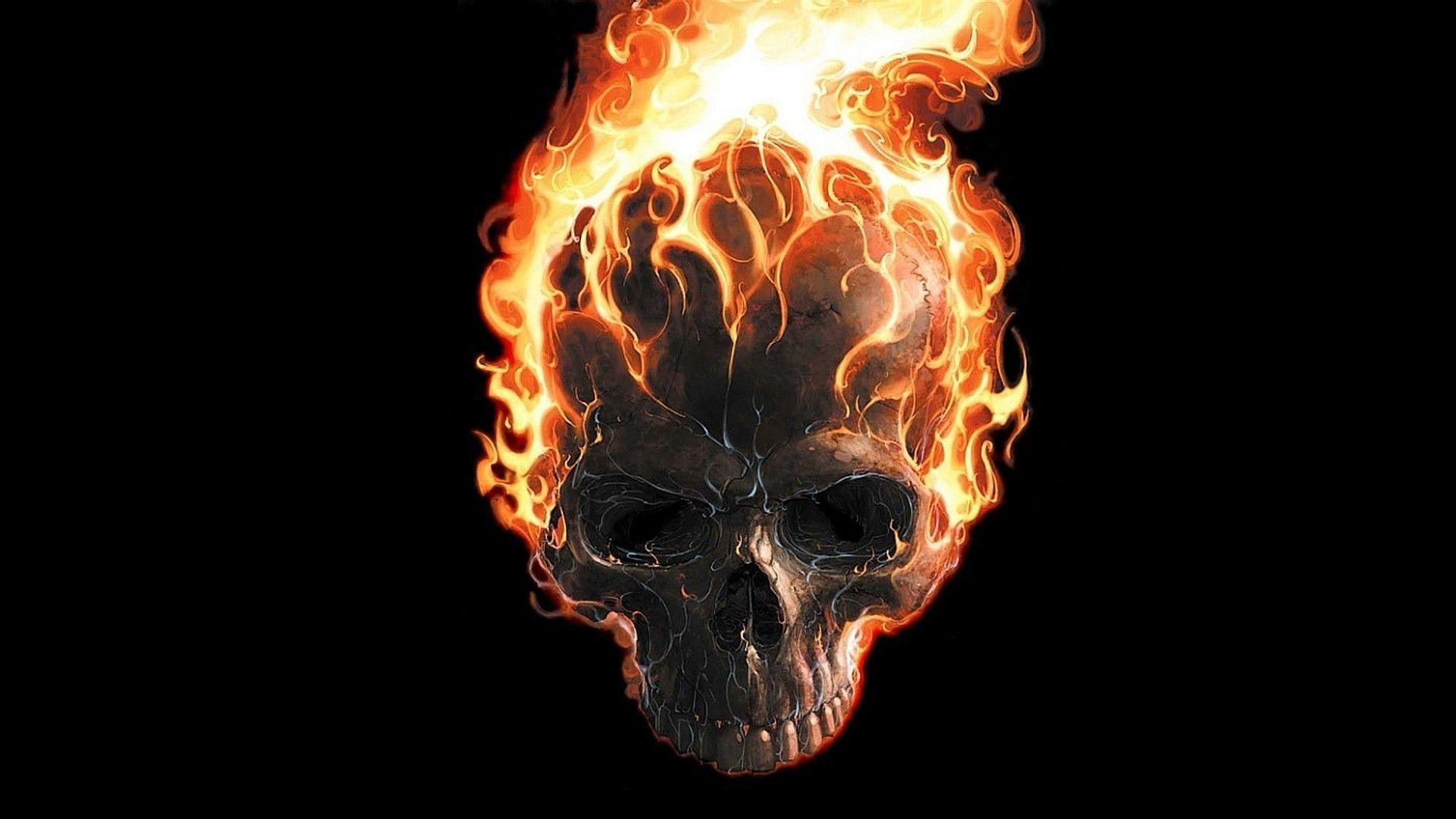 Ghost Rider Skull Wallpaper Ghost Rider Skull 133774 Hd