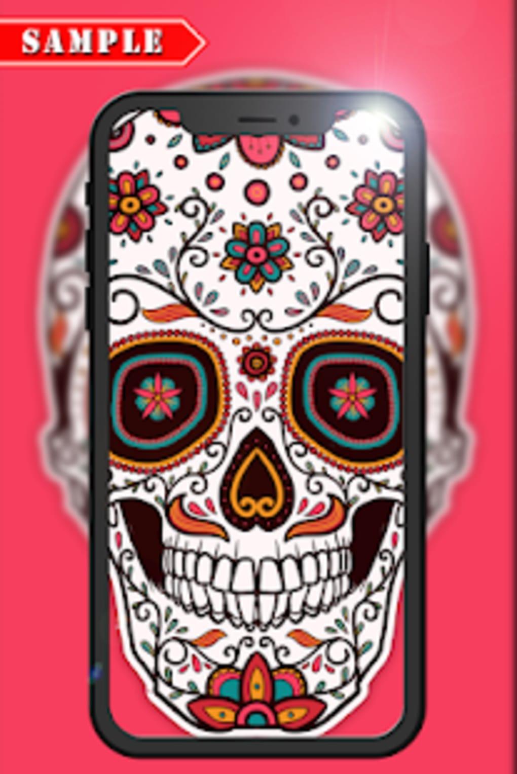 Skull Wallpaper Hd 2019 Free Mexican Sugar Skull Art 133912