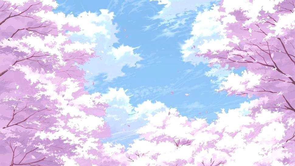 Cherry Blossom Wallpaper Cherry Blossom Flowers Painting - Cherry Blossom Wallpaper 4k , HD Wallpaper & Backgrounds