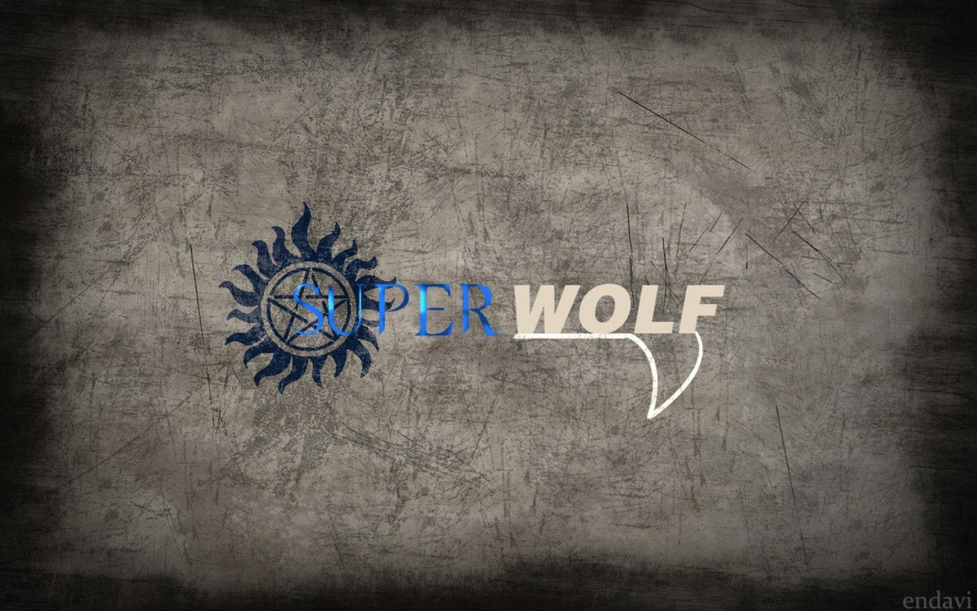 Supernatural Wallpaper Wolf Series Teen Wallpapers - Supernatural E Teen Wolf , HD Wallpaper & Backgrounds