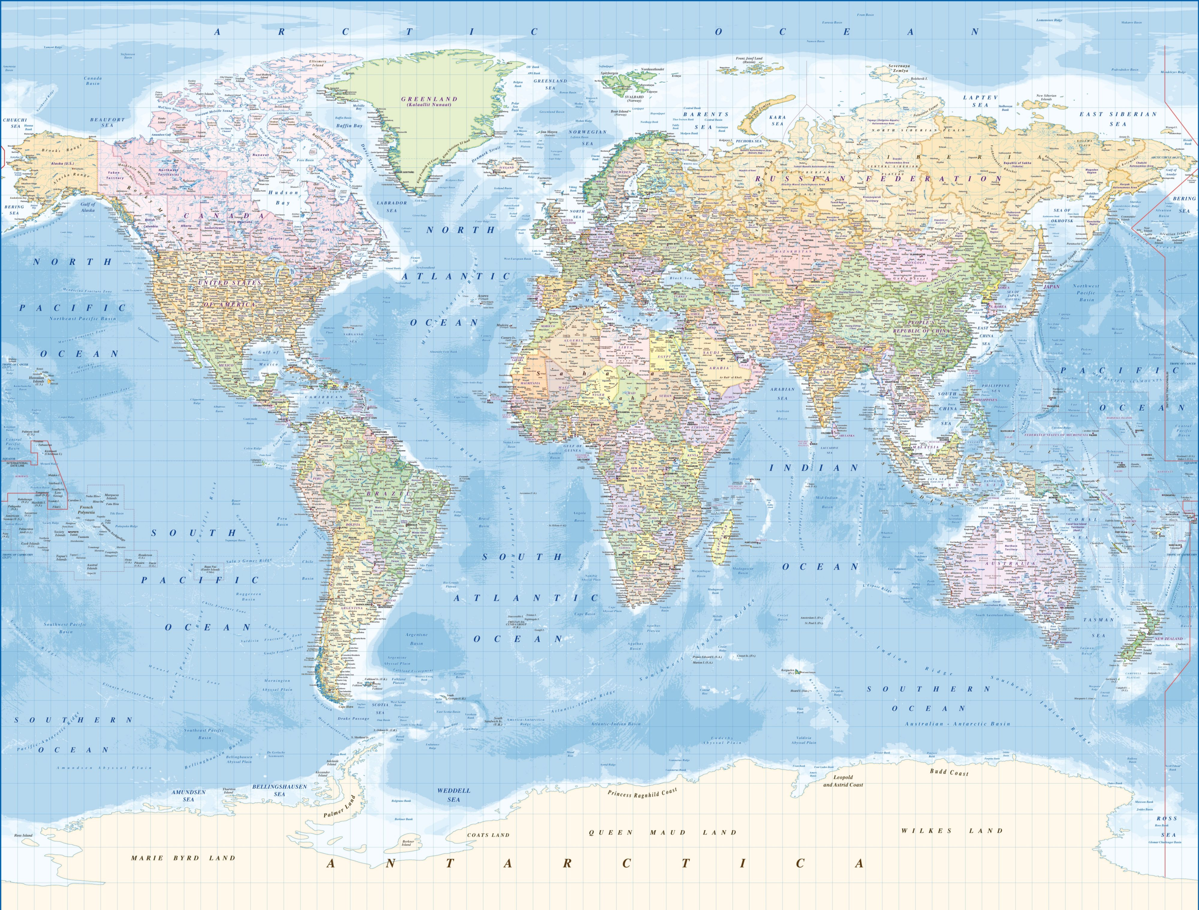 B&q Map Of The World , HD Wallpaper & Backgrounds