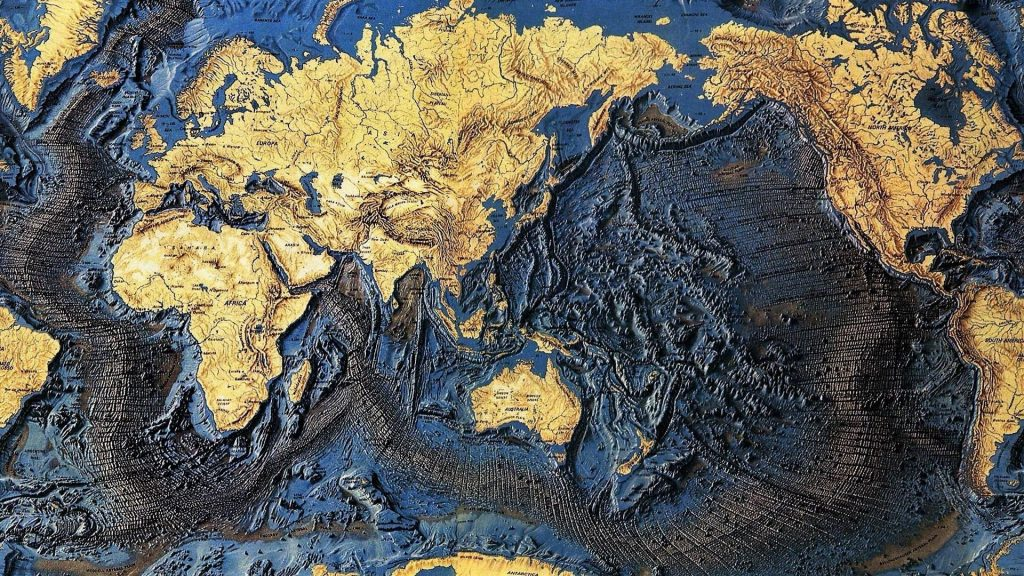 World Map Wallpaper Hd X New World Map H World Map - World Sea Floor Map , HD Wallpaper & Backgrounds