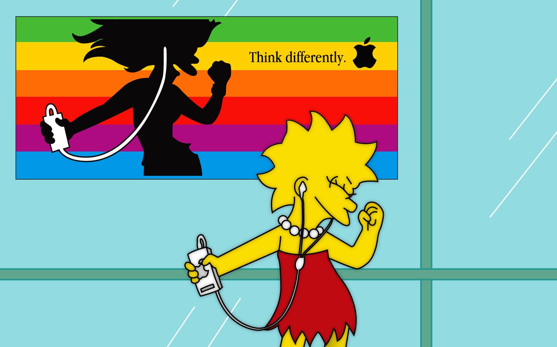 Free Simpsons Wallpaper Lisa Simpson 137084 Hd