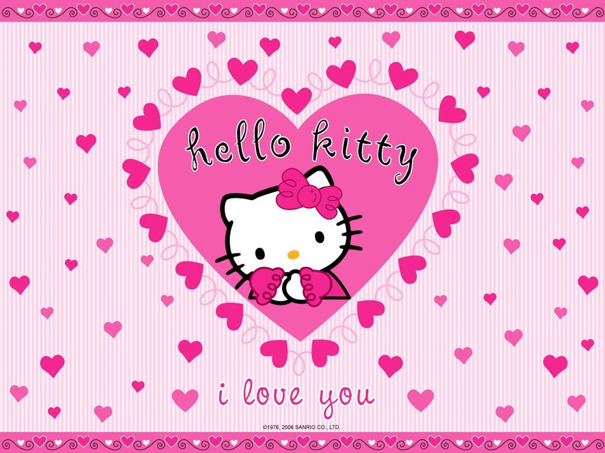Download Free Hello Kitty Wallpaper Background Keyboard