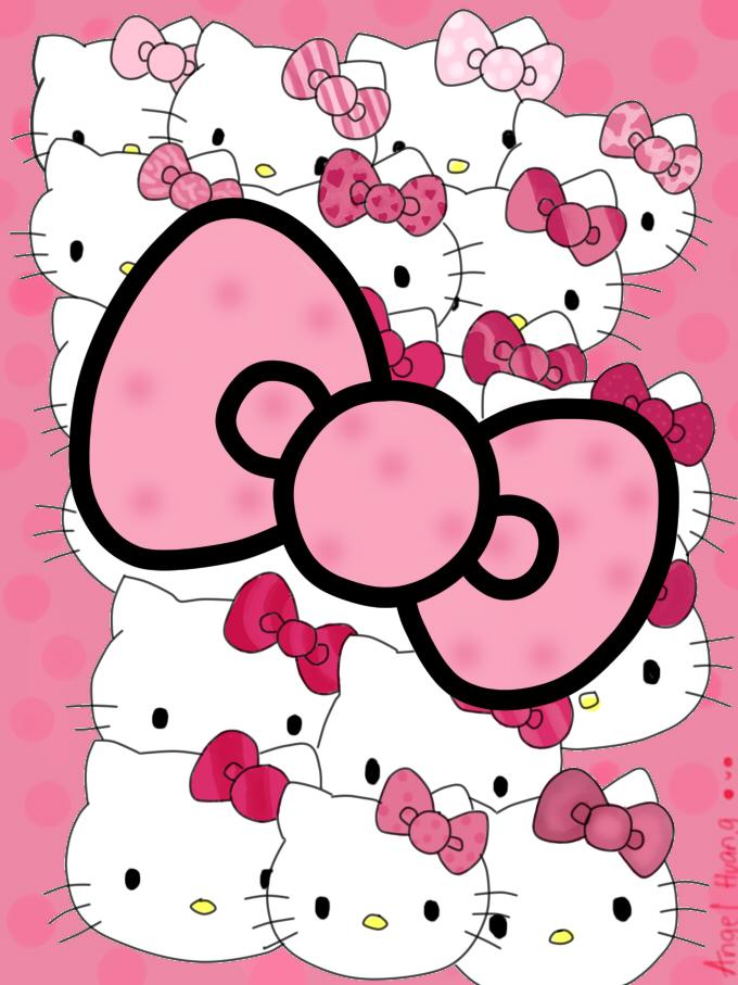 Wallpaper Hello Kitty 702421 Hello Kitty Wallpaper Pink