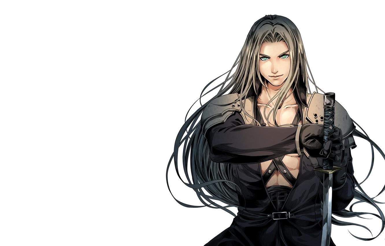 Photo Wallpaper Art Final Fantasy Sephiroth Fantasy