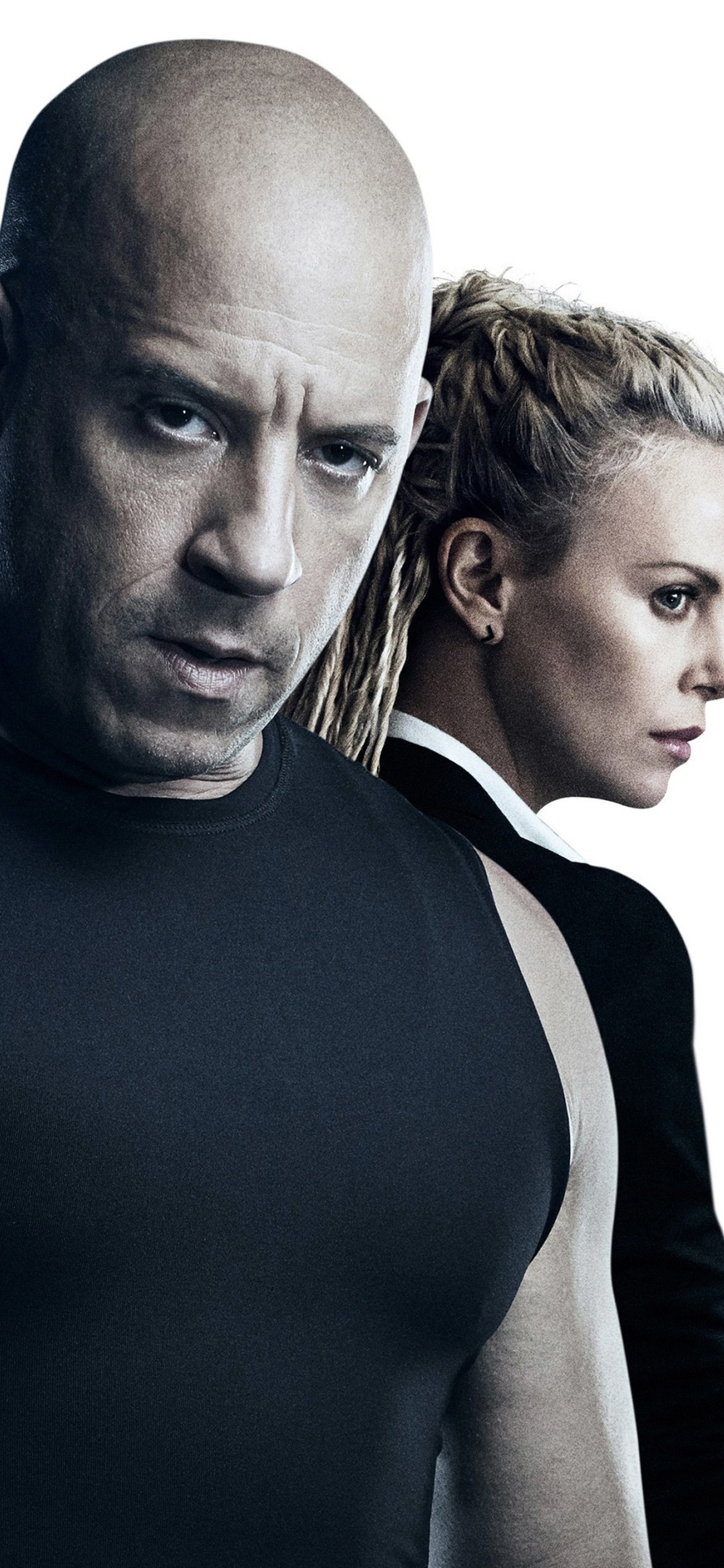 Charlize Theron Vin Diesel The Fate Of The Furious Fate Of The