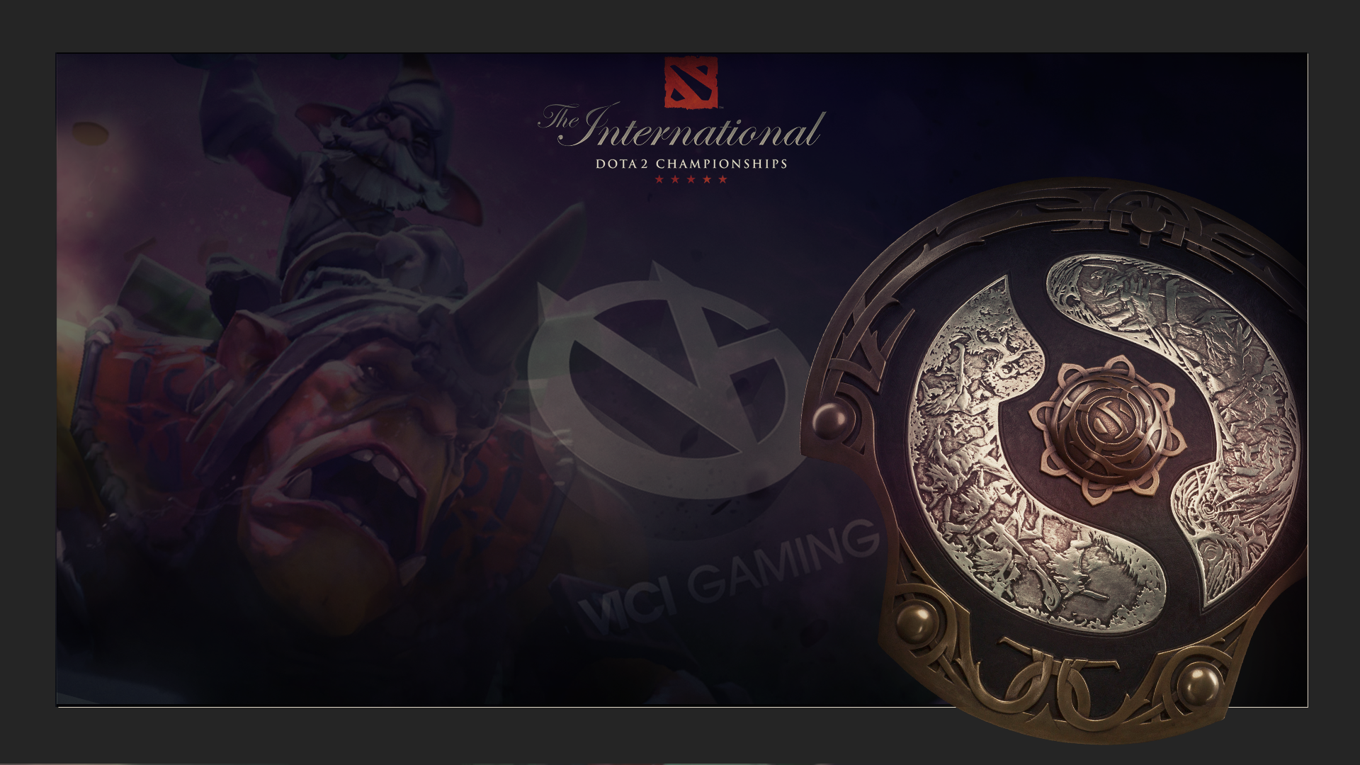 Vici Gaming Dota 2 The International Wallpapers Imagens