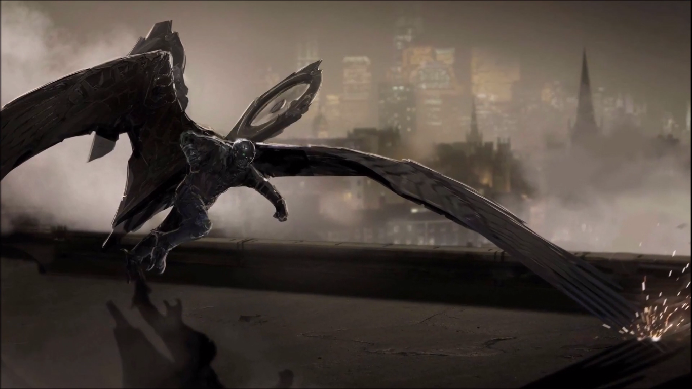 Spider Man Homecoming Vulture Wingsuit 1303474 Hd Wallpaper
