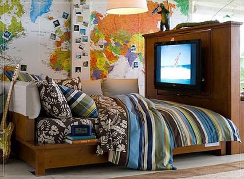 Cool Boy Bedroom Decorating Design Ideas Teenagers Boys Bedroom