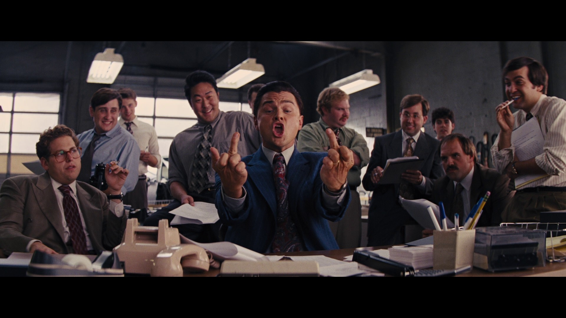 The Wolf Of Wall Street Movie Wallpaper O Lobo De Wall Street