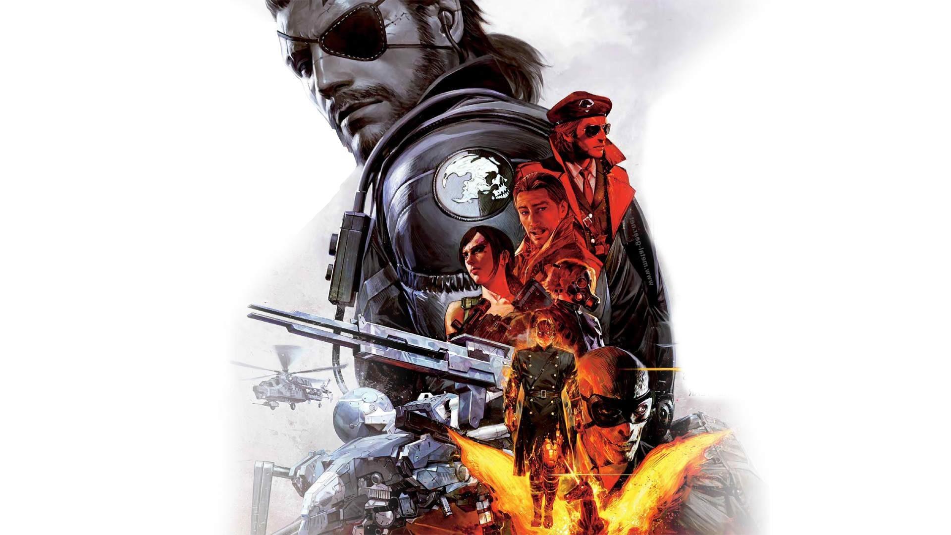 Artwork Metal Gear Solid Revolver Ocelot Venom Snake 1306762