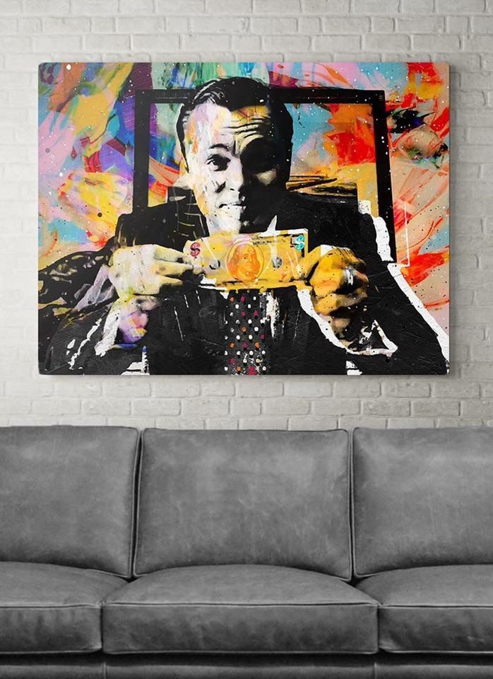 Wolf Of Wall Street Art 15 Images Wolf Of Wall Street - Wolf Of Wall Street Pop Art , HD Wallpaper & Backgrounds