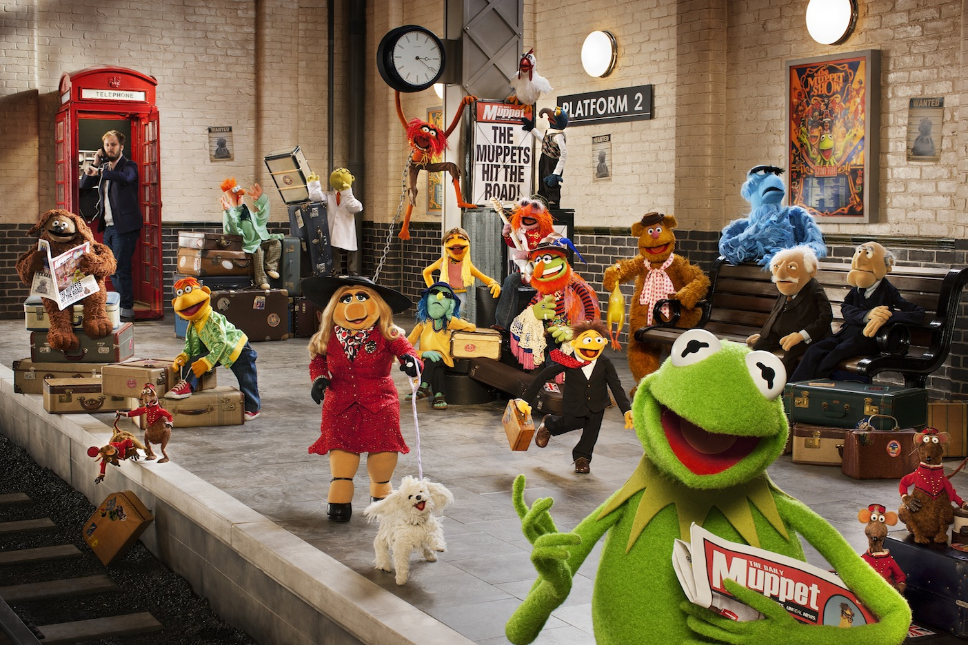 The Muppet Show Bakgrund And Bakgrund - Muppets Again , HD Wallpaper & Backgrounds